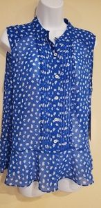 Cabi Spring 2019 Electric Blouse Size M